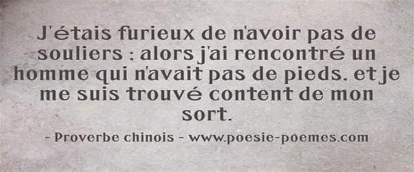 Citation Sois Fort