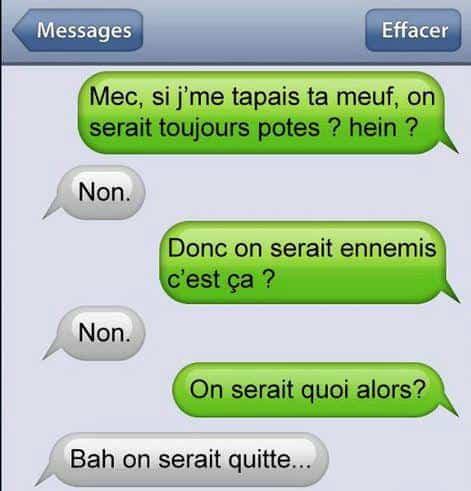 Blague Sms Et Sms Marrants Avec Textos Dhumour Et Drôle