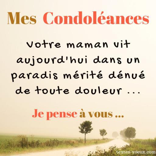 Condoléances pour une amie ou un ami qui a perdu sa mère