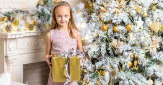 Voeux de bonnes fêtes de fin d'année à ses enfants