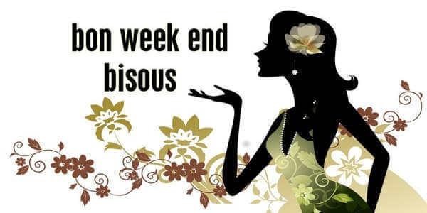Image bon Weekend à ses amis et collègues
