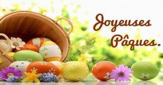 Voeux de Bonne Fête de Pâques pour ses amis
