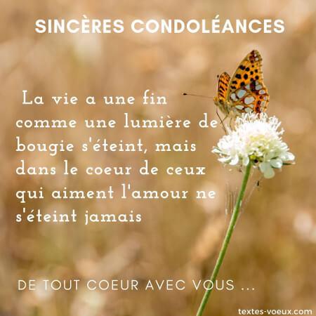 Beaux Messages Condoléances Touchantes Mots De Soutien