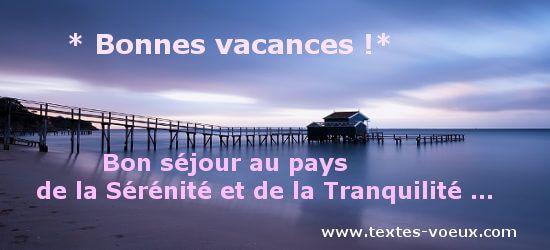 Bonnes Vacances Sms Et Messages Pour Souhaiter Bon Voyage