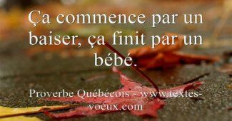 Proverbes Grossesse