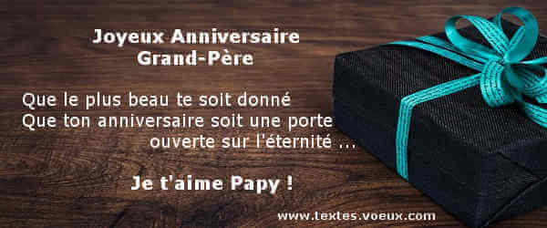 Sms Anniversaire Papy