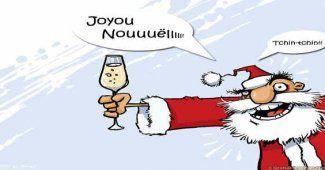 Sms Joyeux Noël marrant