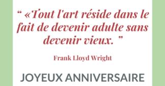 Citation anniversaire 30 ans originale