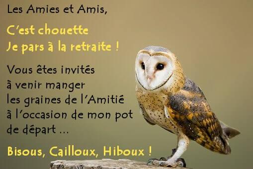 Textes Invitation Départ Retraite Annonce Message Cartes