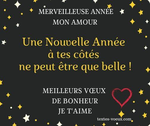 Message De Voeux Bonne Année 2020 Voeux Damour Souhaits
